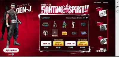 Ketemu lagi bersama kami dipembahasan game Free Fire dan kali ini kami akan membahas tent Cara Mendapatkan Bundle Gen-J dan Tokia di Event Fighting Spirit