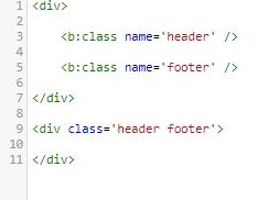 Cách dùng thẻ b:class trong blogger
