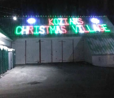 Koziar's Christmas Village in Bernville, Pennsylvania