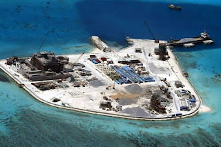Militarized island by Chinese