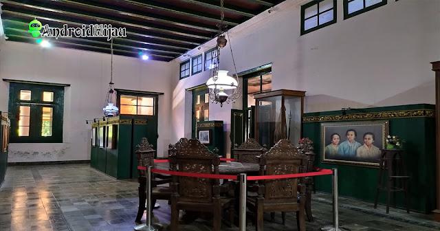 Bagian interior Museum RA Kartini Rembang