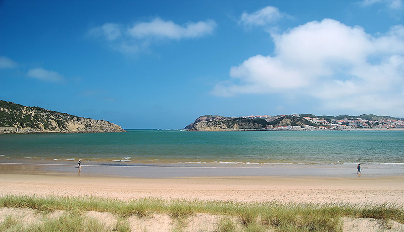 Sao Martinho do Porto beach, Silver Coast
