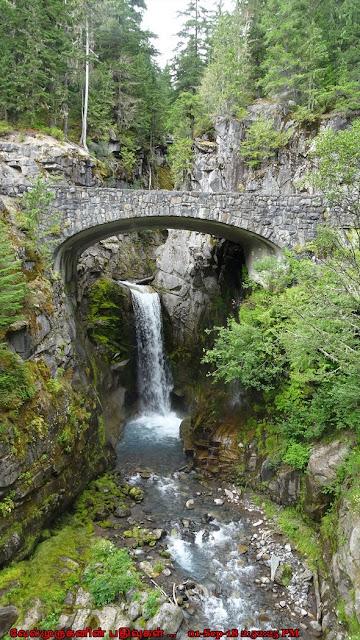 Christine Falls Bridge Mt Rainer