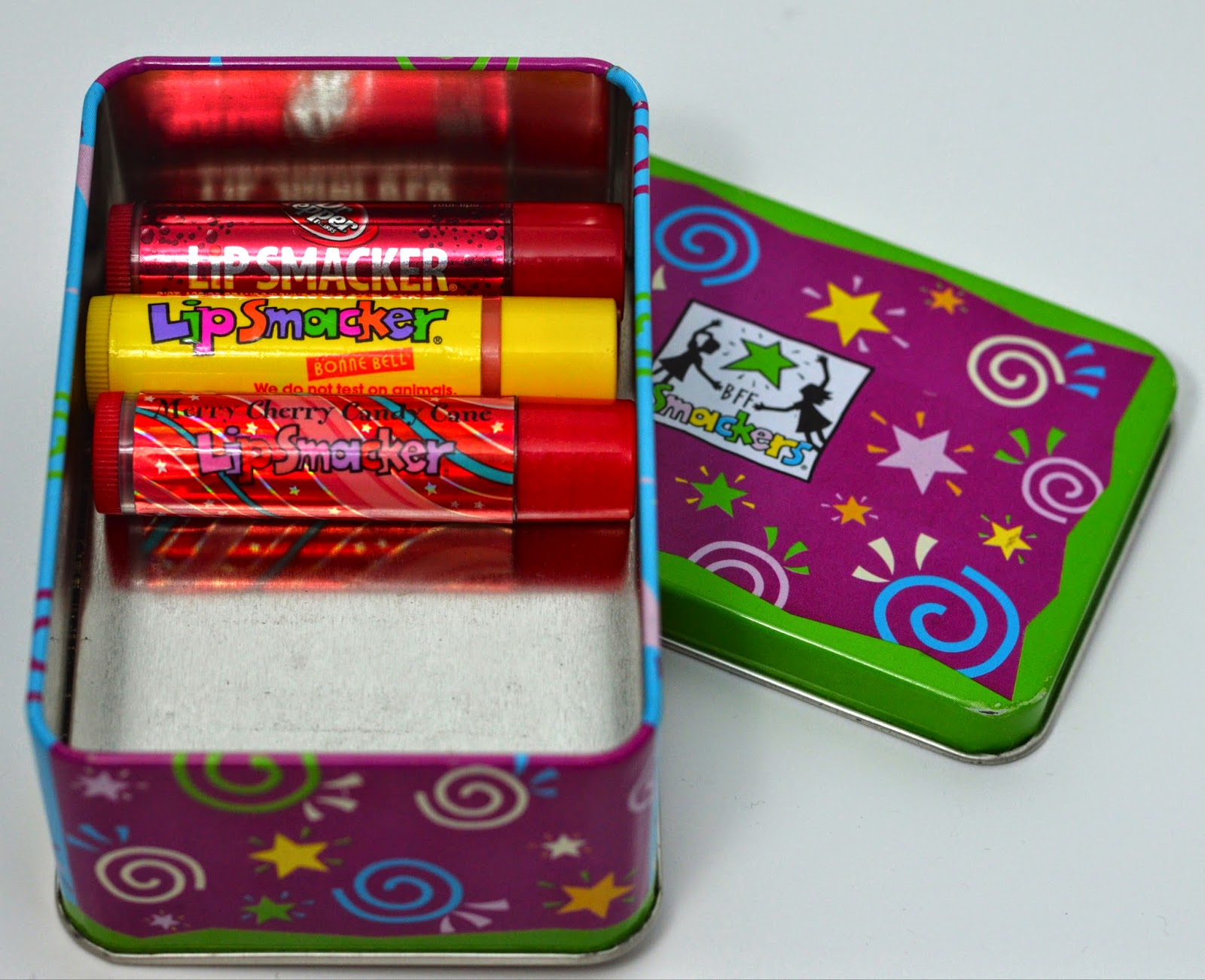 Perfectly Fitting Lip Smackers In Their Home Of A Tin
