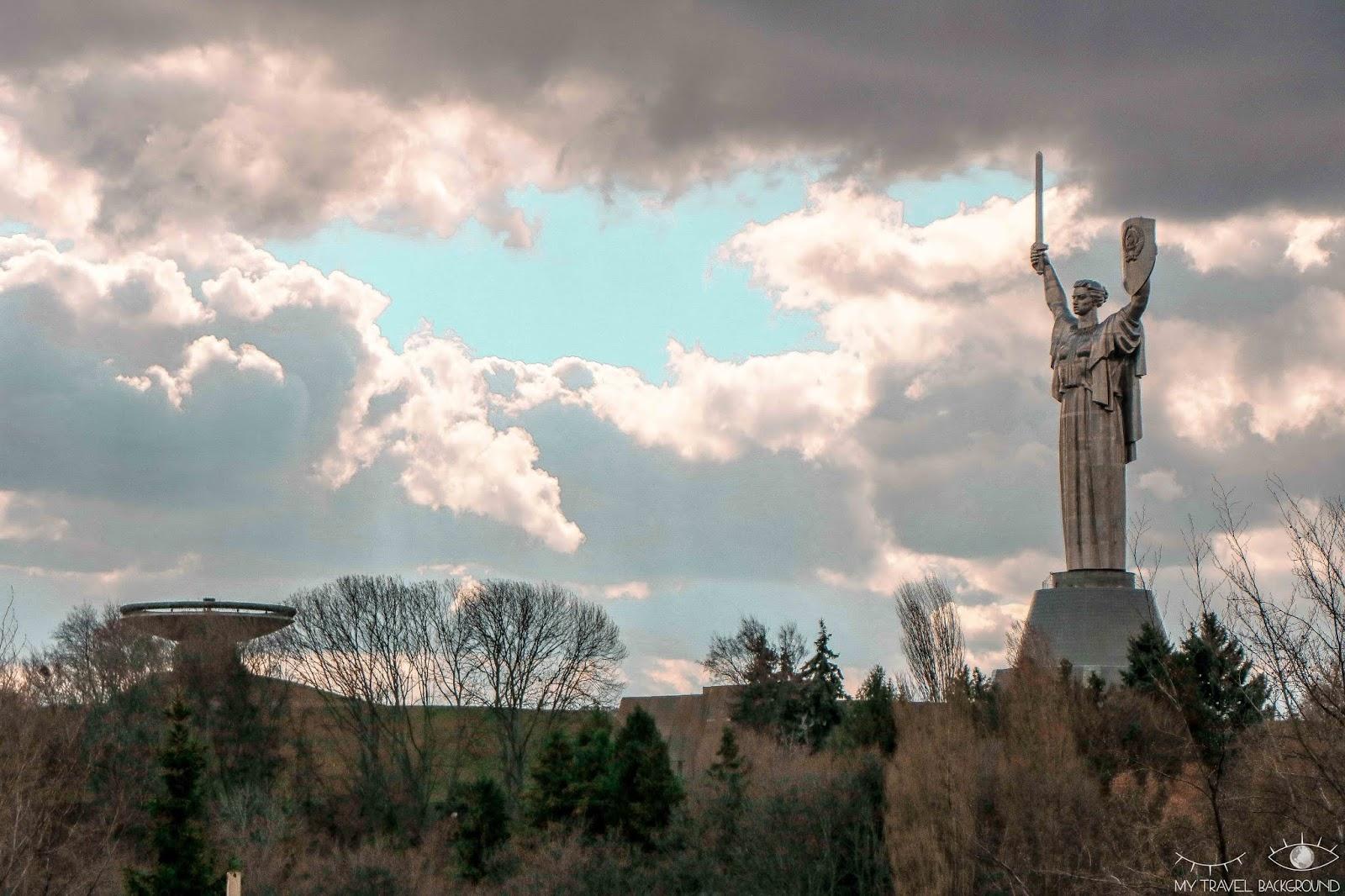 My Travel Background : visiter Kiev, la capitale de l'Ukraine, top 10 - Statue de la Mère Patrie