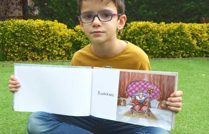 libro infantil editorial a fin de cuentos un rey de quien sabe donde