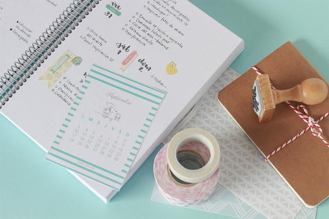 Hola, septiembre: nuevo calendario descargable