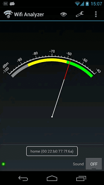 Wifi Analyzer - screenshot 3