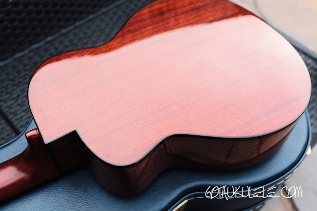 aNueNue Light Bird Tenor Ukulele back