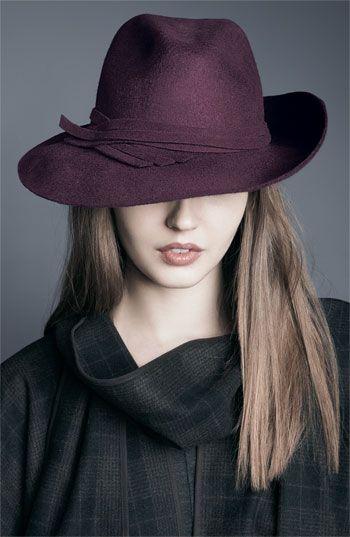 52d100fee0f31 La moda en tu cabello  Peinados de moda con sombreros - Invierno 2016