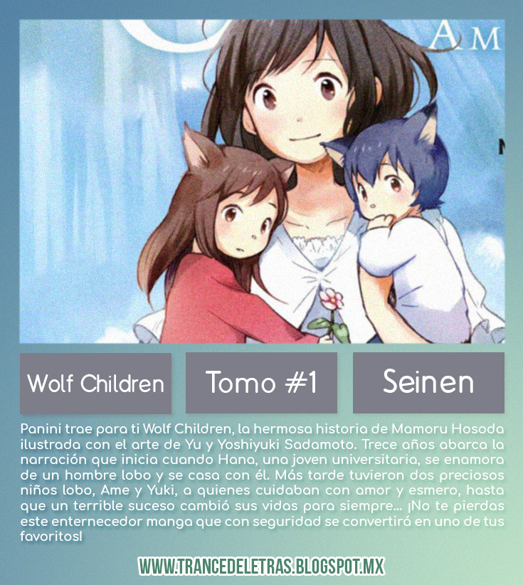 https://www.goodreads.com/book/show/39298635-wolf-children-1-kami-kodomo-no-ame-to-yuki-vol-1