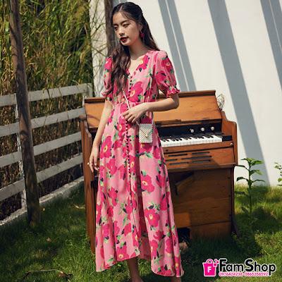 shop ban vay maxi gia re tai Nhan Chinh