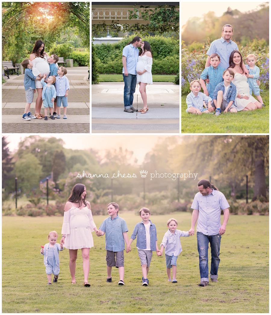 eugene oregon maternity photographer family