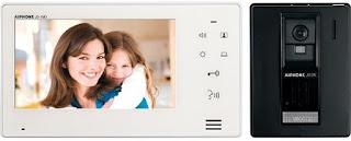 Chuông cửa màn hình được sử dụng rộng rãi cho các biện thự, chung cư cao cấp