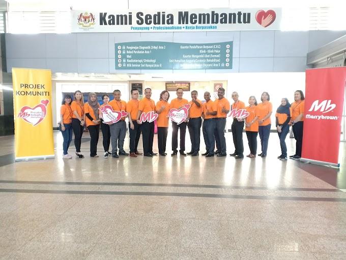 Marrybrown Membawakan Keriangan di Hospital Sultan Ismail dengan MB Playland