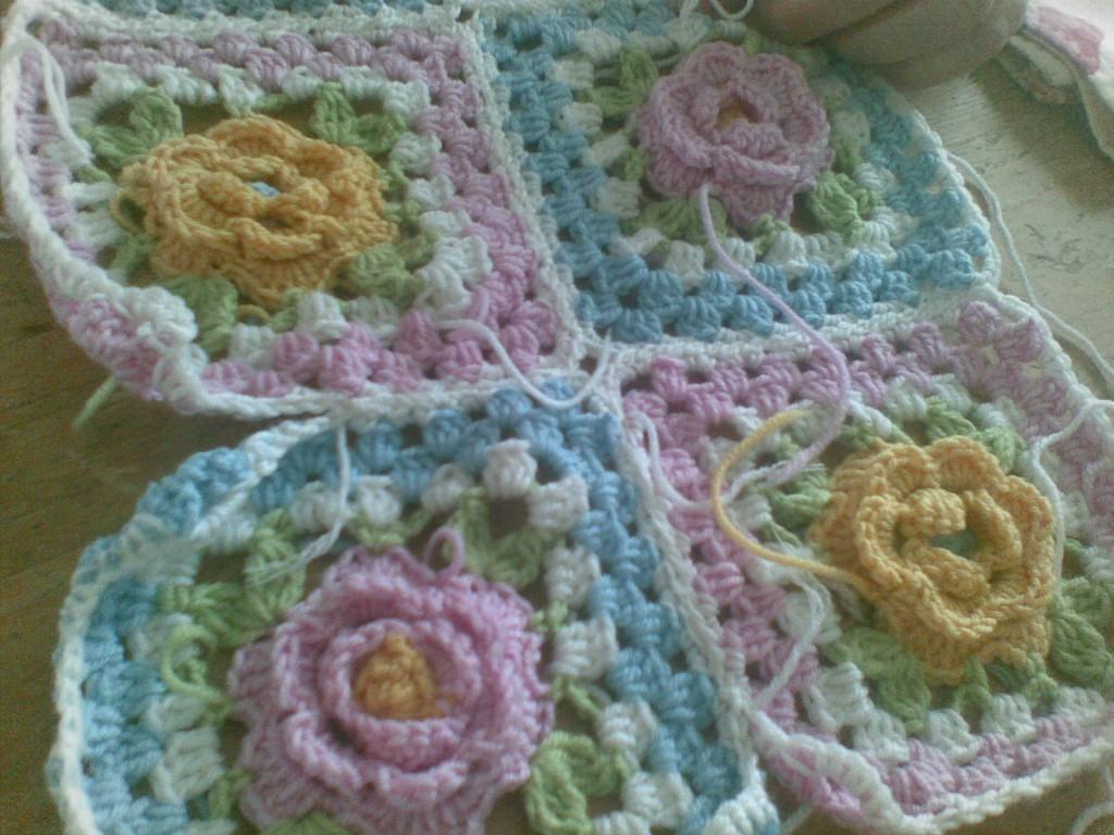 Sireneart crochet & : ❀ tutorial uncinetto ❀ mattonella con