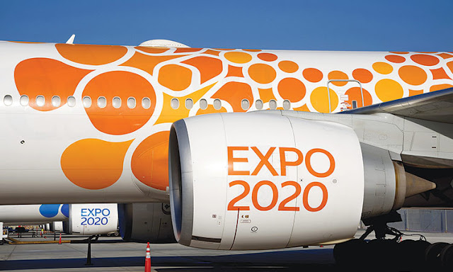 "An additional 120 aircraft a day in the airspace of UAE during ""Expo 2020 Dubai"""