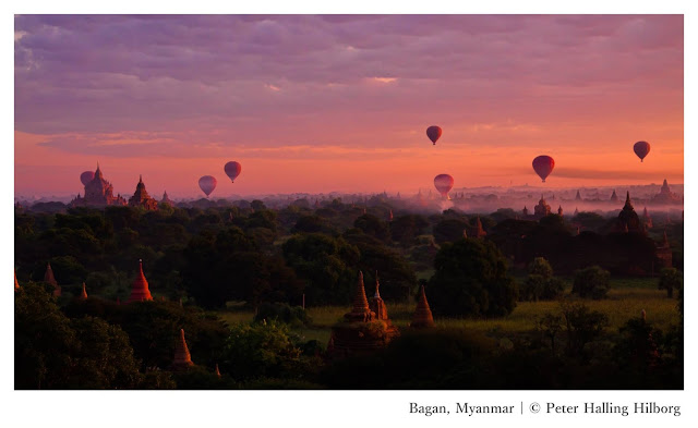 Conquering Southeast Asia: The Thrill-Seekers Edition - Hot air balloon in Bagan Myanmar - Ramble and Wander