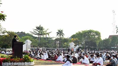 Momentum Idul Fitri  1442 Hijriah, Bupati Indramayu Berharap Pandemi Covid-19 Segera Berakhir