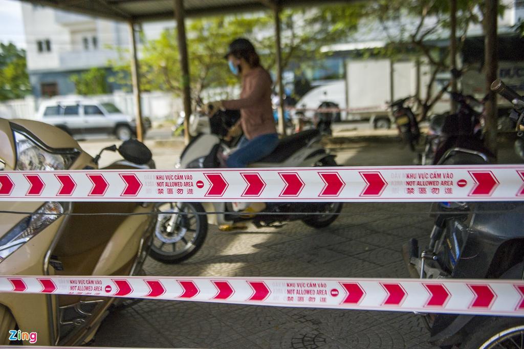 Chợ có 3 người mắc Covid-19 ở Đà Nẵng hoạt động trở lại