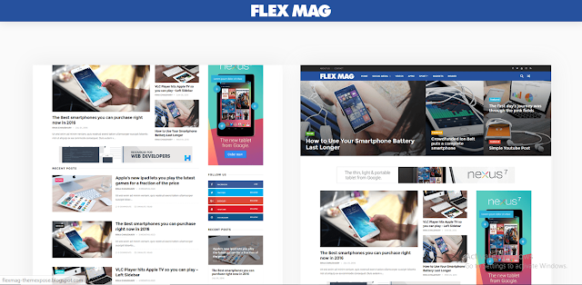FlexMag Blogger Template