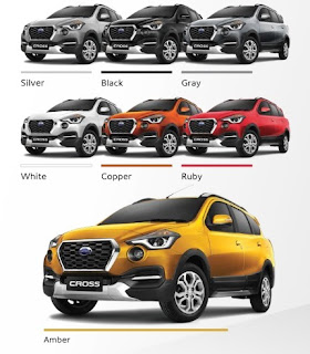 varian warna Datsun cross