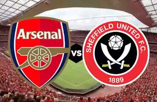arsenal vs sheffield pertandingan liga inggris pekan ke 23