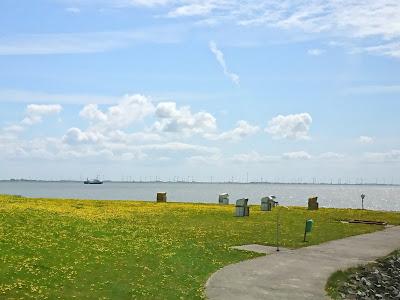 Badestelle Vollerwiek im Frühjahr