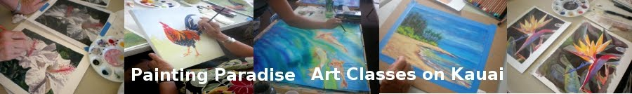 Painting Paradise - Art Classes on Kauai