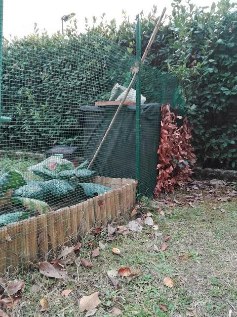 compostiera per l'orto biologico