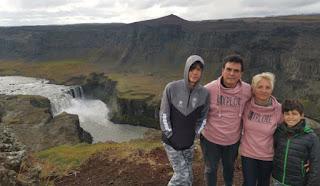 Cascada de Hafragilsfoss. Islandia, Iceland.
