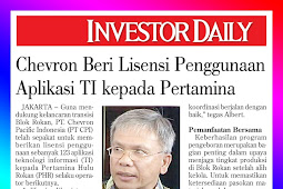 Chevron Gives License to Use IT Applications to Pertamina