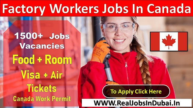 Hiring Factory Worker Jobs In in Canada 2021