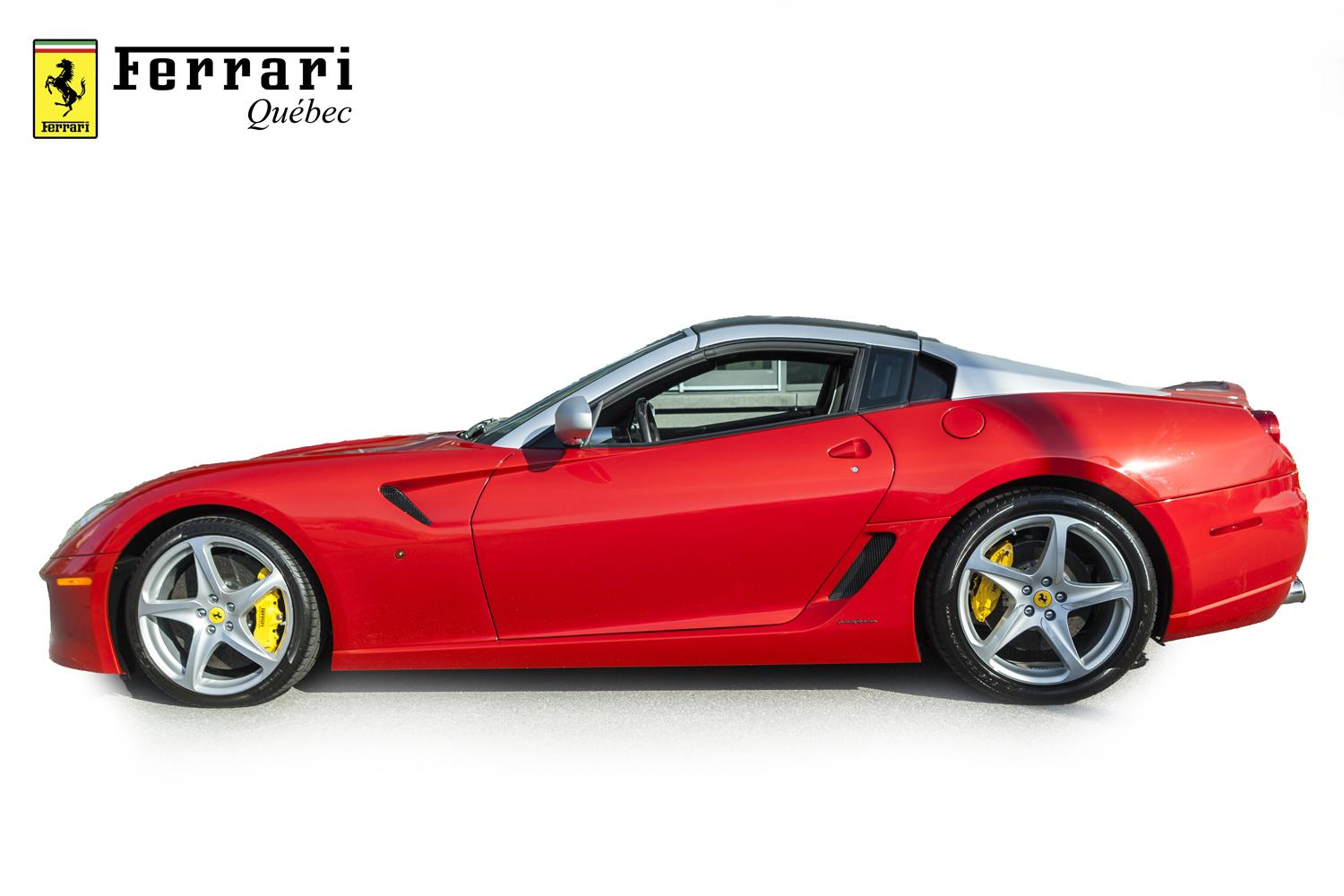 1 6 million ferrari 599 sa aperta makes a laferrari seem too common carscoops. Black Bedroom Furniture Sets. Home Design Ideas