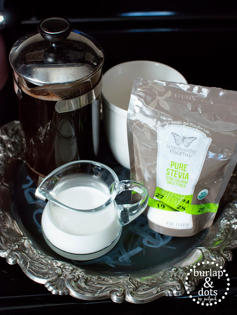 Trim Healthy Mama Coffee and Stevia