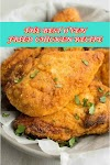 #THE #BEST #OVEN #FRIED #CHICKEN #RECIPE