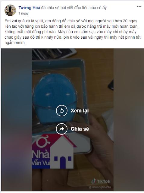 feedback nhan may rua mat sau bao hanh