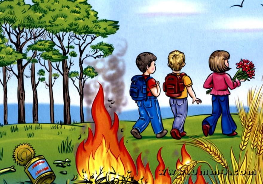 Картинки безопасность детей в лесу на природе для родителей