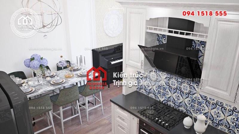 Mê tít thiết kế nhà phố nhỏ đẹp kết hợp nội thất thông minh - Mã số NP1334 - Ảnh 3