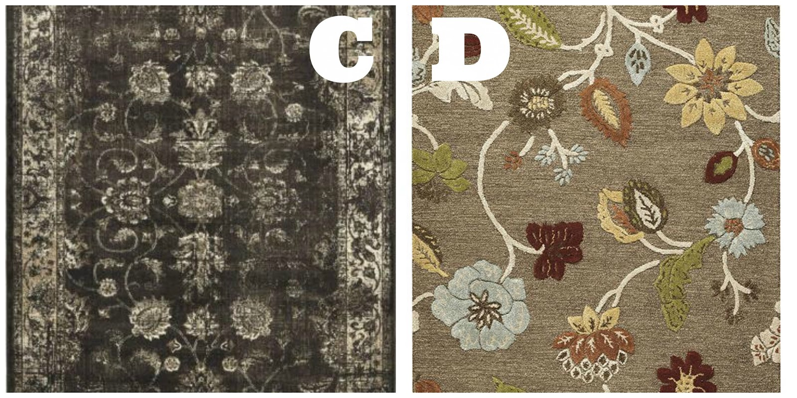 Gray Rugs Bliss-Ranch.com #mohawkrugs #homedecoratorscollection
