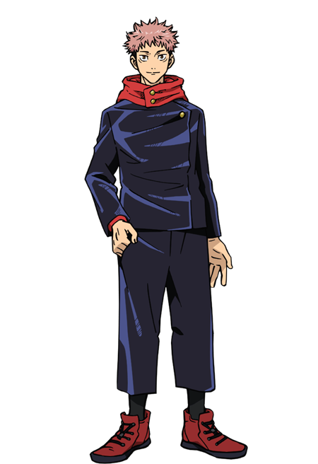 อิตาโดริ ยูจิ (Itadori Yuji: 虎杖 悠仁) @ Jujutsu Kaisen มหาเวทย์ผนึกมาร (Sorcery Fight: 呪術廻戦)