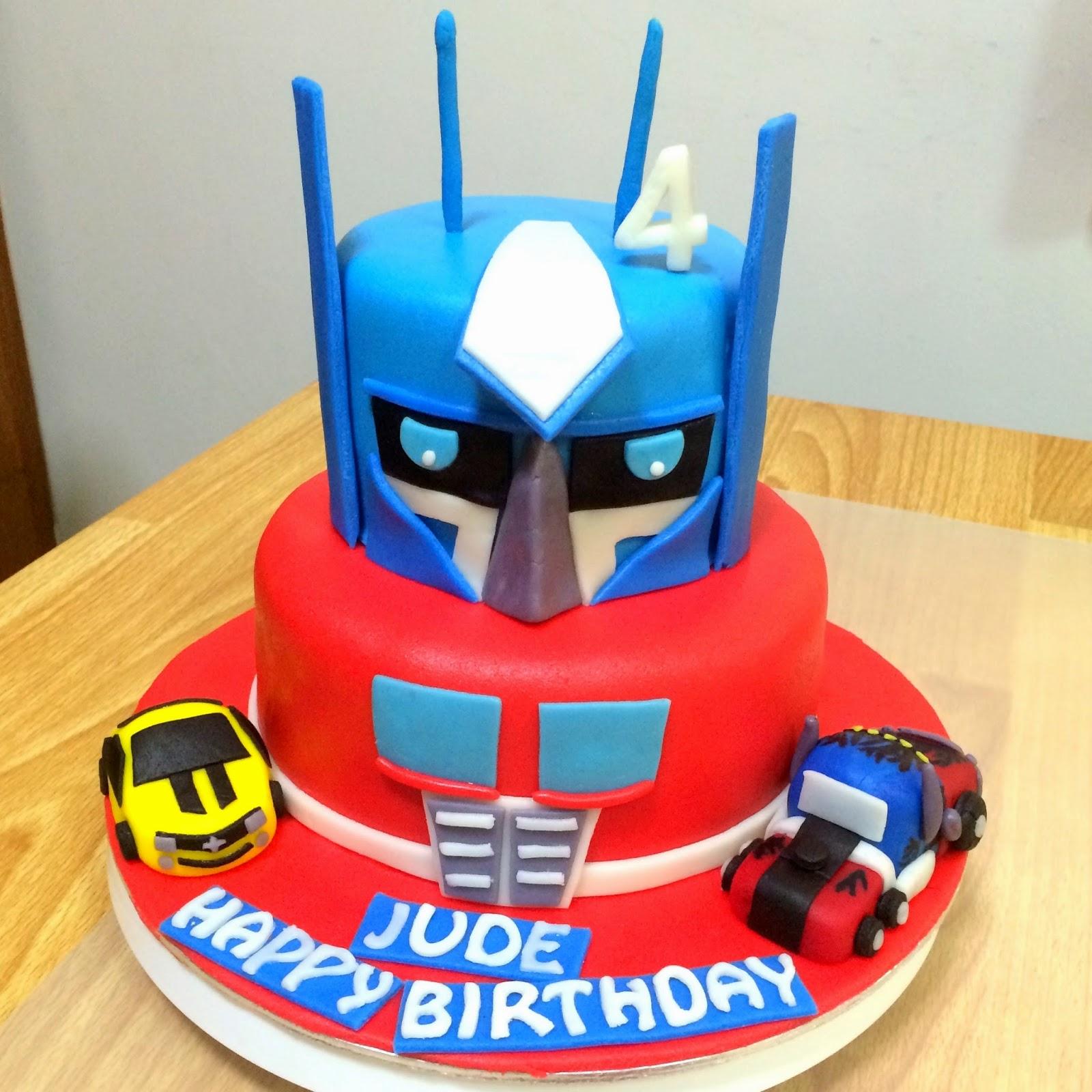 Transformer Cake Sherbakes
