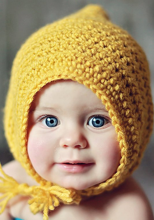 Little Maiden Bonnet - Free Pattern