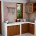 Contoh Desain Dapur Berukuran Kecil Terbaru