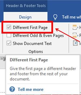 Cara meletakkan nomor halaman atas bawah di word