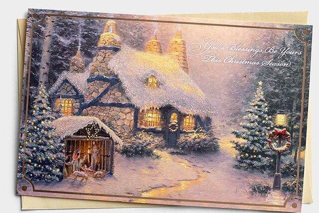 Origen de las tarjetas navideñas
