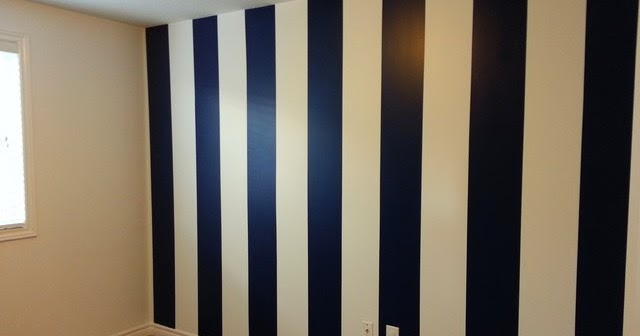 Paint Vertical Stripes On The Walls
