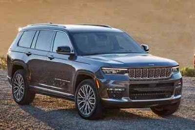 2021 Jeep Grand Cherokee L revealed - a large SUV with more luxury and more technology