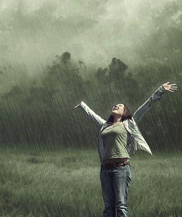 Becky's Daily Devotional: Jan 12 - Holy Spirit, Rain Down on Me!