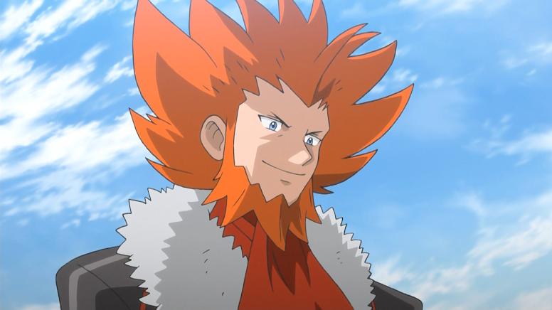 Lysandre Anime Pokémon